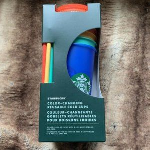 Starbucks Colour Changing Reusable Cold Cups 2020